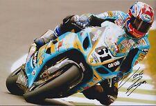 John REYNOLDS SIGNED SUZUKI GSXR 1000 Superbikes 12x8 Photo AFTAL COA Autograph