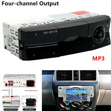 Single 1-Din Car Audio Stereo Lossless Sound Quality MP3 Player FM Radio Stereo