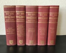 TEXT-BOOK OF OPHTHALMOLOGY 5 VOLUMES BY DUKE-ELDER SIR W. STEWART 1-5 HC 1946