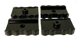 Energy Suspension Bushing Leaf Spring Pad Set Fits Chrysler w/Ribbed Sides Black