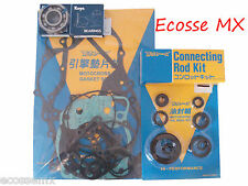 Suzuki RM250 1990 Gasket Set Con Rod Kit Seal Kit Crank Bearings