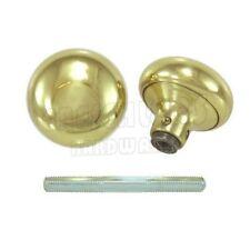 """2-1/4"""" Solid Brass Door Knob Set"""