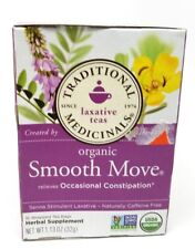 Traditional Medicinals Organic Herbal Laxative Tea Bags, Smooth Move 16 ea
