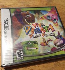 Viva Pinata Pocket Paradise Nintendo DS Brand New Factory Sealed Y Fold Rare