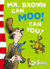 Mr.Brown Can Moo! Can You? by Dr. Seuss (Paperback) New Book
