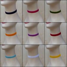 Handmade Classic Velvet Choker Necklace Band 16mm 20 Gorgeous Colours Free P&P
