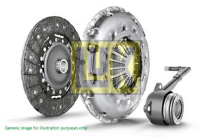 Clutch Kit 3pc (Cover+Plate+CSC) 220mm 622306133 LuK 301016758R 306200650R New