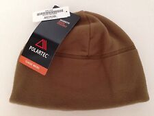 USMC MARINE CORPS MILITARY POLARTEC FLEECE WATCH CAP HAT BEANIE COYOTE BROWN NEW