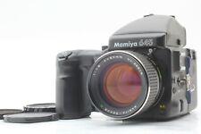 【NEAR MINT+++】 Mamiya 645 Pro w/ 80mm f1.9 Lens + AE Finder +120 Film Back JAPAN