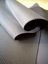 Spacer fabric, 100% Polyester, TF 18,  3D Mesh, Black, 1 metre, Seconds grade