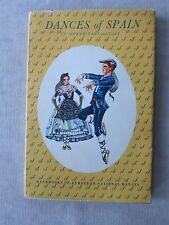 Old Book Dances of Spain II North-East and East 1951 DJ GC