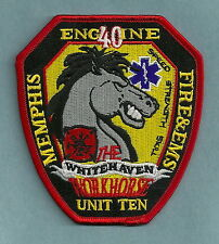 MEMPHIS TENNESSEE FIRE DEPARTMENT ENGINE COMPANY 40 PATCH