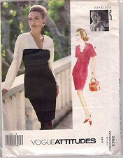 Vogue Designer Sewing Pattern 2943, Tom, Linda Platt, Jacket, Skirt Size 6 -10