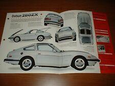 1979 DATSUN 280ZX SPEC SHEET BROCHURE POSTER PRINT PHOTO 79 78 80 81-83 280 Z ZX