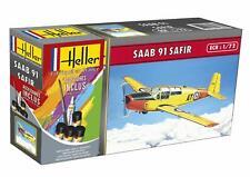 Heller 1/72 SAAB 91 Safir Gift Set # 56287