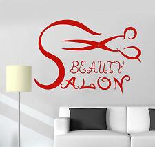 Vinyl Wall Decal Beauty Salon Hair Scissors Hairdresser Stickers Murals (ig4793)