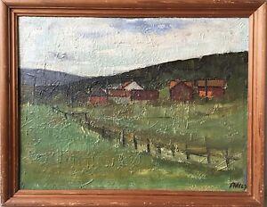 Pmh - Landscape IN Scandinavia - Sweden Norway - Monogrammed 1967
