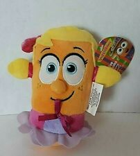 """Veggie Tales Laura Carrot Girl 6"""" Plush Stuffed Toy 2015 BIG IDEA With Tag"""