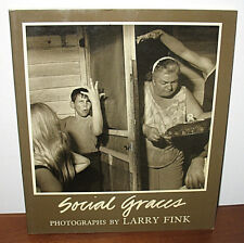 SIGNED Larry Fink Social Graces Original 1984 PB Wealthy Blue Collar