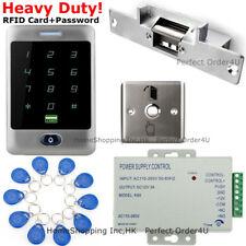 Waterproof Rfid Card+Password Door Access Control System+Electric Strike Lock