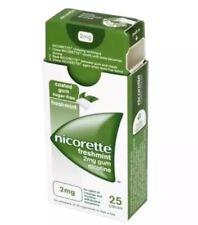 Nicorette Freshmint 2mg Gum - (Nicotine Gum) - 25 Pieces