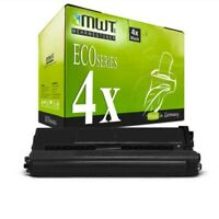 4x MWT Eco Cartucho Negro XXL Compatible para Brother HL-L-8350-CDW