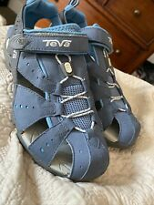 TEVA Outdoors Sandals Shoes 10 Blue Super Comfortable Womens