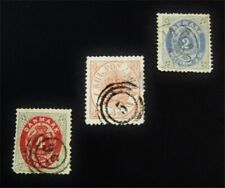 nystamps Denmark Stamp # 13/18 Used $50 F19y1408