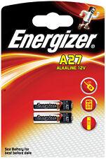 LOT DE 10 PILES ENERGIZER 12 V Volts  A27 27A MN27 GP27A E27A EL812 L828 A27BP
