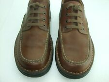 Clarks Active Air Brown Leather Moc Toe Lace Up Oxfords Casual Shoes Men's 11 M