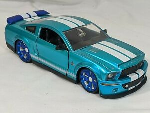 1/24 JADA BIGTIME MUSCLE 2008 FORD SHELBY GT-500KR ***RARE***