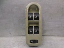 Renault Megane Scenic Mk2 Drivers Front 4 Way Window Switch OS Brown Grey Plug