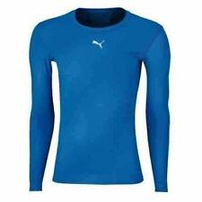 Puma Pb Core Long Sleeve Mens Base Layer BlueTraining Fitness Top 511603 09 A2C