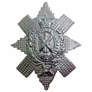 SL Glengarry Cap Badge St Andrew Design Chrome Finish/Highland Cap Badges Watch