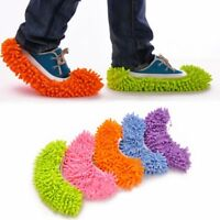 1PC Dust Mop Slipper House Cleaner Lazy Floor Dusting Cleaning Foot Shoe Cover