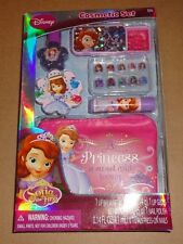 Brand New Sofia the First Cosmetic Set Lip Balm, Gloss, Nail Polish, Bag etc.