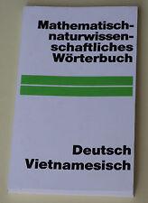 Deutsch-Vietnamesisch mathematisch-naturwissenschaftliches Wörterbuch