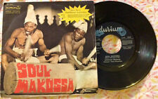 """AFRICAN REVIVAL / SOUL MAKOSSA - PITCH BLACK - 7"""" (Italy 1973) EX-/EX-"""