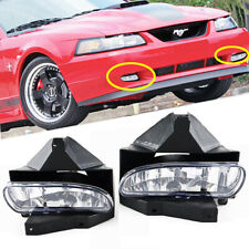 Fit Ford Mustang 1999-2004 Clear Lens Bumper Fog Lights Lamp OE Replacement DOT