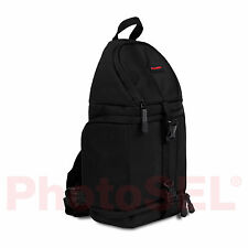 PhotoSEL BG411 Sling Bag Backpack for DSLR Camera Bag Case Canon Nikon Sony Fuji
