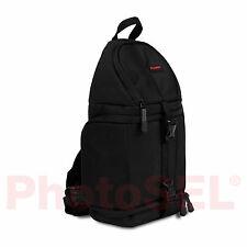 PhotoSEL BG411 Sling Bag Backpack for DSLR Camera Bag Case Canon Nikon Sony Fuji