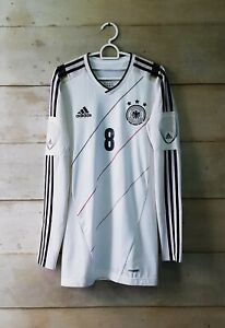 Rare! Authentic Germany 2012 home player issue Techfit jersey trikot Ozil #8