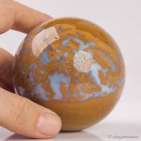 533g 73mm Large Natural Ocean Jasper Quartz Crystal Sphere Healing Ball Chakra