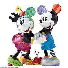 DISNEY BRITTO Mickey & Minnie Mouse limitierte Auflage NEU/OVP Micky Maus Figur