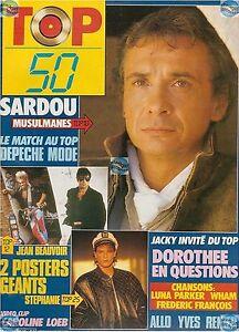 Magazine TOP 50 45 complet SARDOU DEPECHE MODE DOROTHEE WHAM STEPHANIE  DOUCHKA