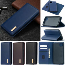 Luxury Wallet Real Leather Flip Case Cover For Huawei Y5P Y6P Y7P 2020 P40 Lite