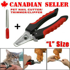 Professional Dog Nail Clippers For Small Medium Large Dog Breeds With QuickGuard