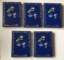 GASTON LAGAFFE ROMBALDI 5 VOLUMES / FRANQUIN / LOT DE 5 BD EO SERIE COMPLETE