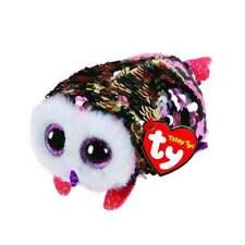 Ty Beanie Teeny TYS 42411 Checks The Owl Flippable