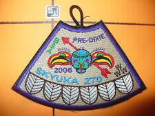 OA Skyuka Lodge 270,2006 Pre- Dixie Patch,Palmetto Council,PUR,South Carolina,SC